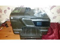 Hp office jet pro 8600 plus printer + new 4 black ink cartridges