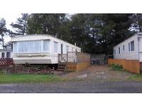 6 berth static caravan Barrasford park
