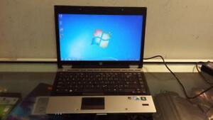 Used HP EliteBook 8440p Core i5 Laptop with Webcam, HDMI and Wireless, Can Deliver