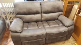 Brand new reclining sofa