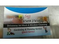Gardening and driveways service