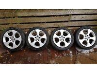 VW BBS Monza 17 Alloy Wheels