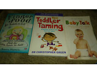 Parenting Books Bundle (toddler taming, Baby Talk and Finger Food for Babies and Toddlers)
