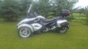 2009 can am spider