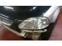 1996-1998 Honda Civic preface front lights