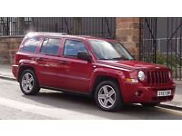 2007 Jeep Patriot Limited CRD 4x4 5 Door Hatchback, Full Leather Interior, Long MOT, Must see!