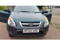 Hunda cr-v 12months mot full service history central lock remote control key great drive