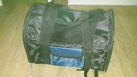 carrier bag/backpack for small dog or cat