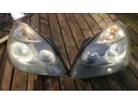 Mk2 Renault Clio headlights -Pair