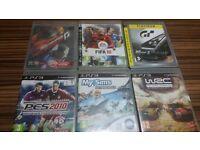 Bundle of 6 PS3 games