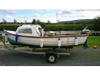 18ft Orkney style boat
