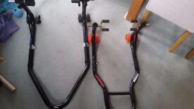 Motorcycle paddock Stands Front & Rear