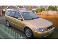 Volvo V40 Estate (2002) for sale - MOT until September 2017; nearly new tyres and battery