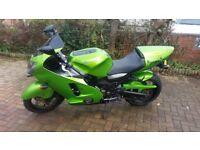 Kawasaki zx 1200 long mot new tyres good condition rides nice phone simon 07716697152