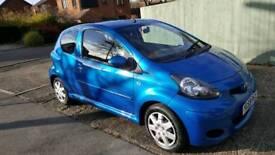Toyota aygo 1.0VVVT-i blue 3dr