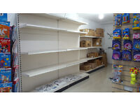 OPEN TO OFFERS- Excellent condition 10m wall units and 1 free standing unit cream colour