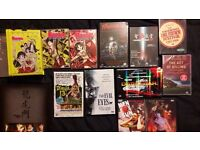 SELECTION OF VERY RARE LIMITED EDITION DVDs and BLU RAY