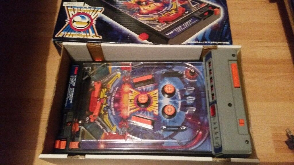 Vintage retro tomy toy pinball machine 1979