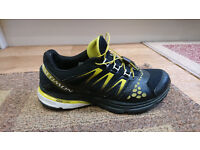 Men's Salomon shoes, size 7, USED, Main colours black and yellow