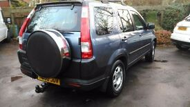 Honda crv cdti 4wd 2006 mot Nov.17 excellent unmarked cond. second owner from new.