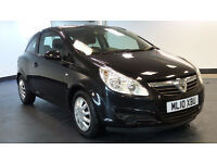 2010 10 VAUXHALL CORSA 1.3 CDTi ecoFLEX 16v Exclusiv 3door *2 YEARS WARRANTY*FINANCE AVAILABLE*