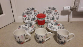 Cath Kidston Mickey Mouse Range - bowls, mugs & plates - some NEW