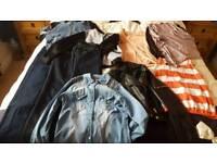 Womans bundle size 8 jackets jeans tops