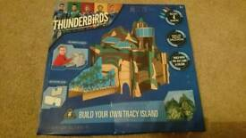 Thunderbirds craft build your own Tracey Island new in box