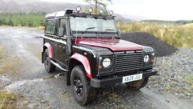 Land Rover Defender 90 Station Wagon TD5 - NO VAT - ONLY 70K MILES - UNIQUE ONE OFF!!! REDUCED!