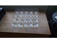 20 Wine Glasses