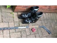 Bauer Velocity V-TECH V6 In-Line Skates UK Size 10