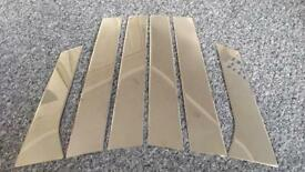 Vauxhall Astra 2011 Chrome Pillar Covers