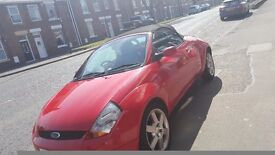ford street ka convertible private plate