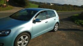 2012 vw golf bluemotion tech 2.0 tdi full service history 75mpg £30 tax