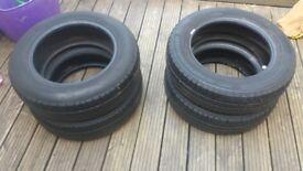 DUNLOP tyres x4