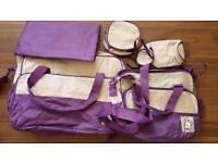 6 in 1 baby diaper nappy bags