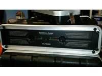 American DJ VLP 600 Amplifier & Aluminum Flight Case