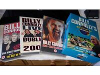 SELECTION OF BILLY CONNOLLY VHS TAPES