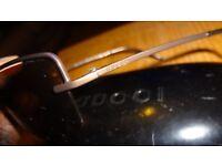 Gucci Sunglasses in Black Leather Case