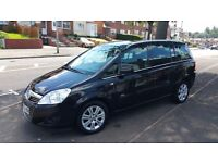 VAUXHALL ZAFIRA 2010 ONLY 49K MILES ALL MOTS AND SERVICE HISTORY