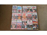 WWF WWE Wrestling Silvervision VHS Videos £5 Each
