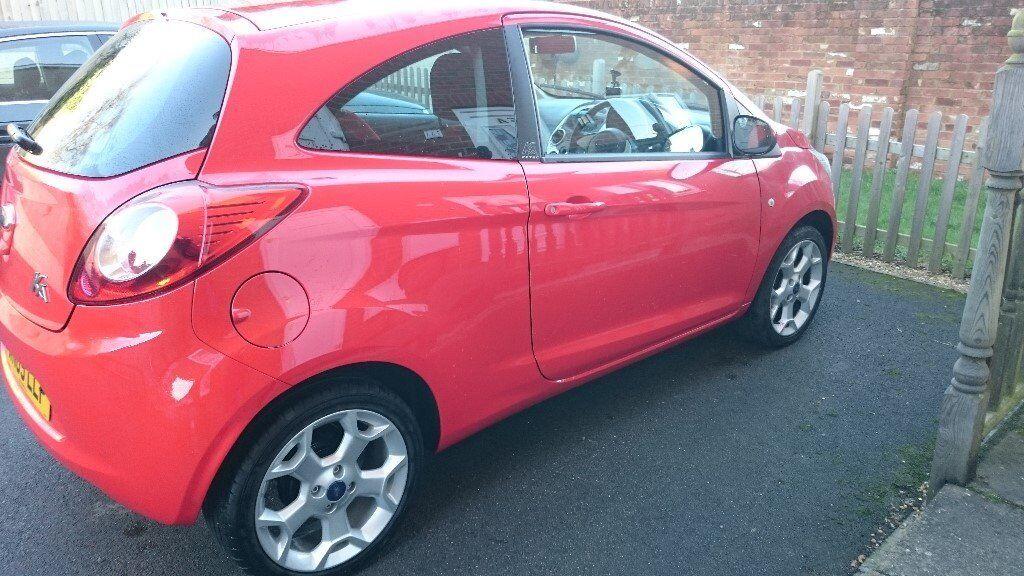 Red Ford Ka Zetec  Miles  Alloys Bluetooth