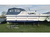 Boat for sale. 24ft Norman Cruiser Lillian Rose