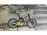 Boys bike. Would suit age 4-5