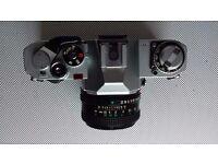 Canon AV-1 with 50 mm FD lens
