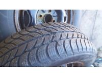 2x almost new winter tyres SAVA eskimo 185/65/14