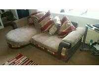 Three Seater Settee, Love Chair and Footstool **FREE DELIVERY**