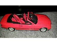 Maisto 1:18 BMW 325i convertible