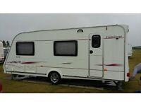 2007 Compass Connoisseur 556 6 berth caravan