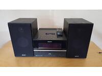 Selling 1 x Sony 5 Disc mini stereo 1 x Sony HCD-BX70DBI DAB iPod Cd Stereo